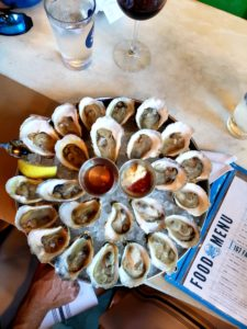 167 Raw Oysters